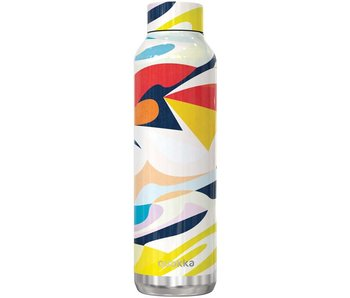 Quokka drinkfles - solid abstract 630ml