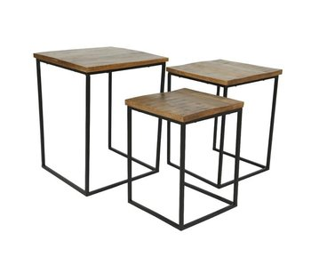 Table d'appoint Mango L - 44x44x56h
