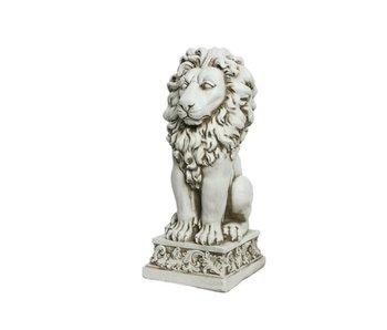 Statue extérieure lion 27x29x61h