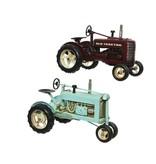 Tractor ijzer bordeau  16x16.5x25.5h