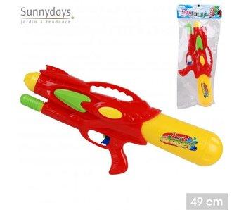 Waterpistool 49 cm rood/geel