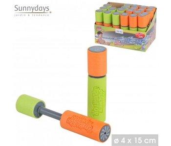 Watergun 15x4 - oranje/groen