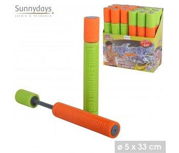 waterspuiter 33x4 - oranje/groen