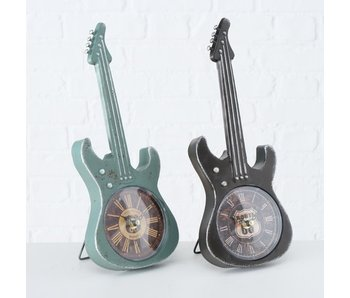 Klok gitaarvorm zwart  - H34cm