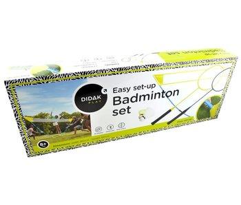 Set de jeu de badminton - installation facile
