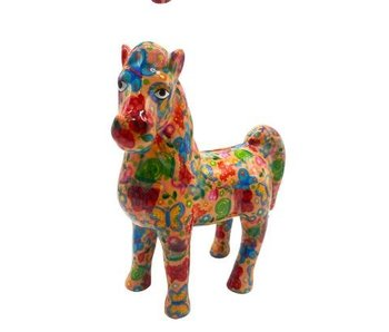 Pomme pidou Spaarpot 6 'Joy' paard - 20.7x9.5xH20.8