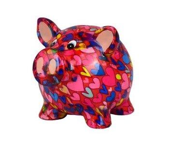 Pomme pidou Tirelire 4 Rosie - cochon 16.5x13.5xH14.1