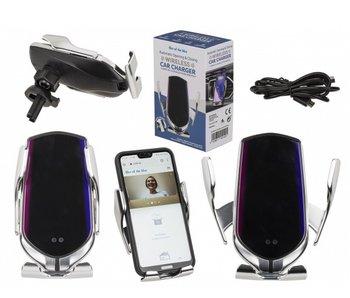 Support portable pour voiture avec appareil de charge wireless