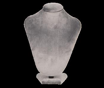 Clayre & Eef Sieradenhouder buste - grijs 16x10x23cm