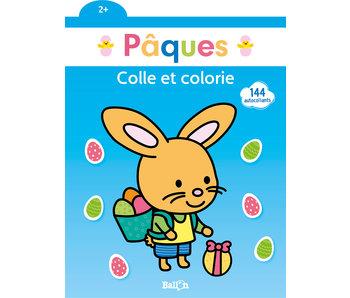 Colle et colorie Pâques