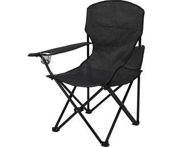 Vouwstoel Luxe antraciet - campingstoel