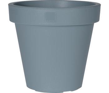 Pot de fleurs gris dia 35cm