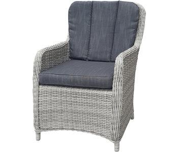 Chaise de jardin Harvard - osier 72x62x89