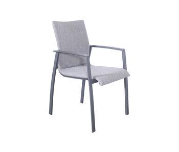Solero all - weather - Chaise de jardin empilable - 57x62x89cm
