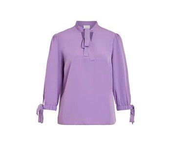 VILA Viblowy 3/4 top - purple - 38