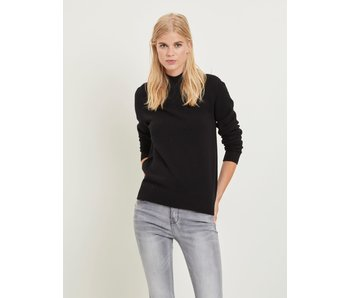 VILA Viril L/S turtleneck knit top - black - XL