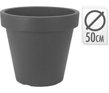 Bloempot antraciet - D50cm