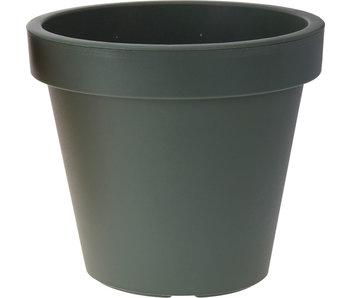 Pot de fleurs vert foncé 35cm