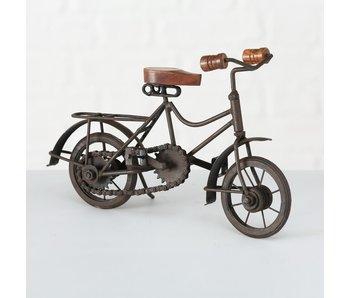 Object fiets type 2 28x18 cm bruin