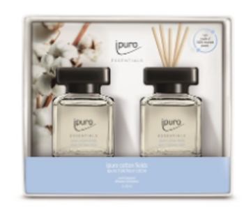 Ipuro Essentials Giftset 2x50ml cotton fields
