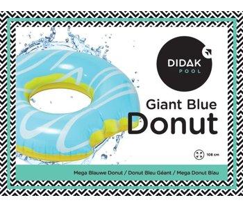 Giant Blue Donut Tube Didak - 108cm