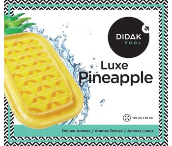 Luxe Pineapple Lounge Didak - 190x85cm