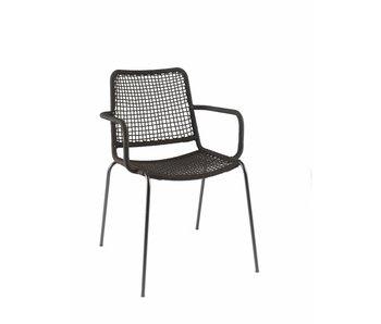 Gescova Coppa stoel - zwart
