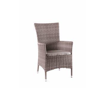 Gescova Adria stoel - cappuccino/zand - hoge rug