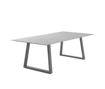Gescova Table Miranda - gris clair 240cm