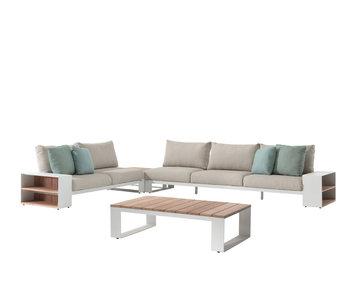Gescova Vinica lounge set - wit/ecru