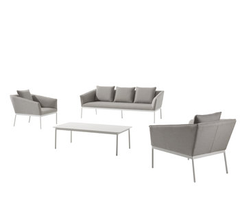 Gescova Tomassi lounge set - donkergrijs