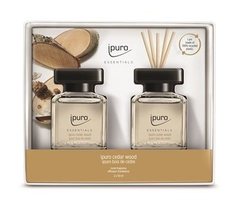 Ipuro Essentials gift set 2x50ml Cedar wood