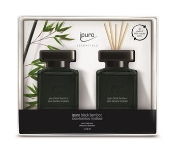 Ipuro Essentials Giftset 2x50ml black bamboo