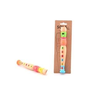 Sola sound houten blokfluit