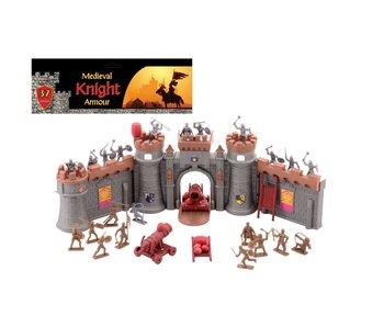 Knights ridder speelset met kasteel