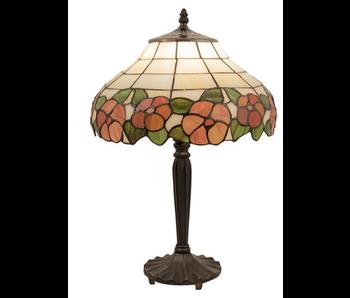 Clayre & Eef Tafellamp 2 Tiffany dia 32x46 cm