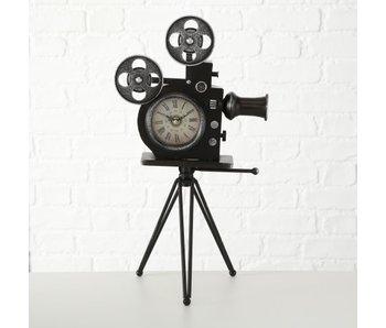 Klok filmcamera 29x52hcm - ijzer