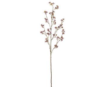 J-Line Branche Blossom Fine Plastique Aubergine
