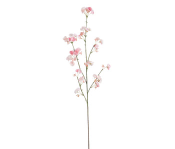 J-Line Hydrangea Pompom Plastiek Roze