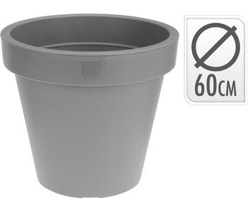 Pot de fleurs gris clair 60cm