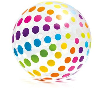Ballon de plage à pois 107cm