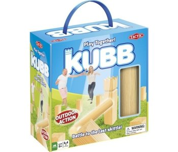 Kubb outdoor action