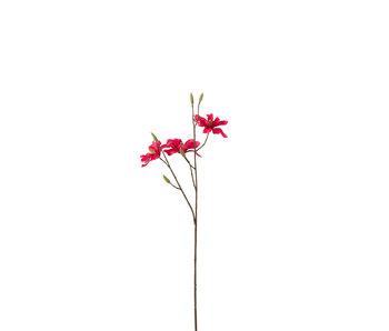 J-Line Magnolia Tak Plastiek Licht Fuchsia