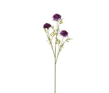 J-Line Boule de fleurs Mum Plastic Purple