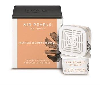 Ipuro Air pearls capsules une journée à la plage