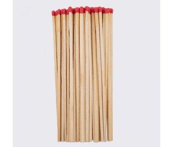 Lot de 40 allumettes longues 19,5 cm