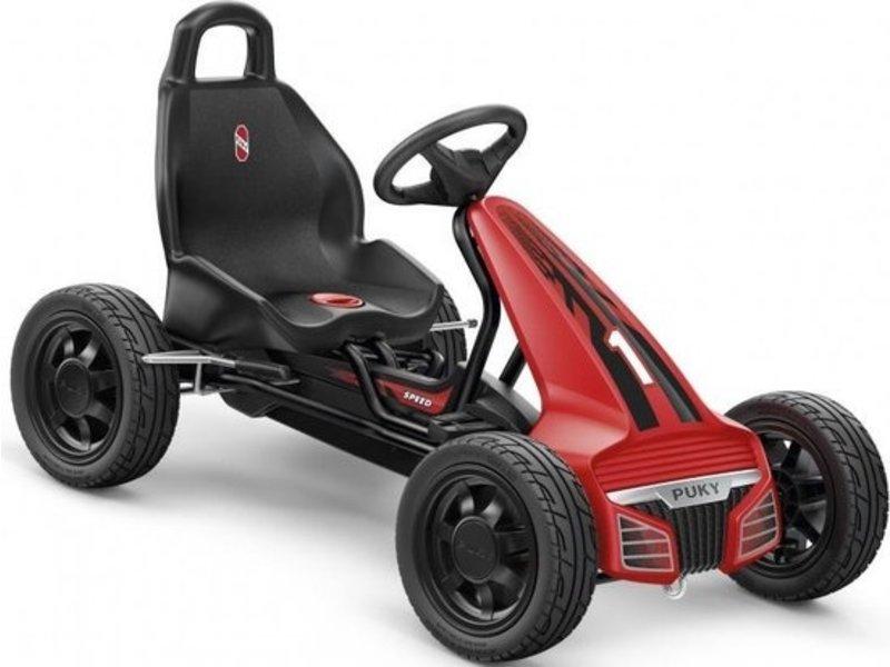 Puky go-cart Skelter F550L - Zwart-Rood