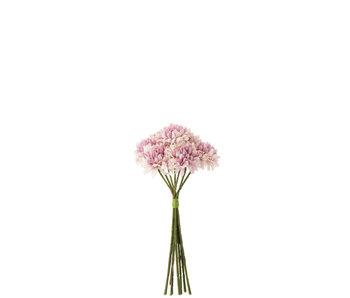 J-Line Bouquet Boule Maman Plastique Violet Clair
