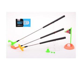 Set de golf avec 3 clubs extensibles