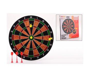 Magnetisch dartsbord met 6 darts